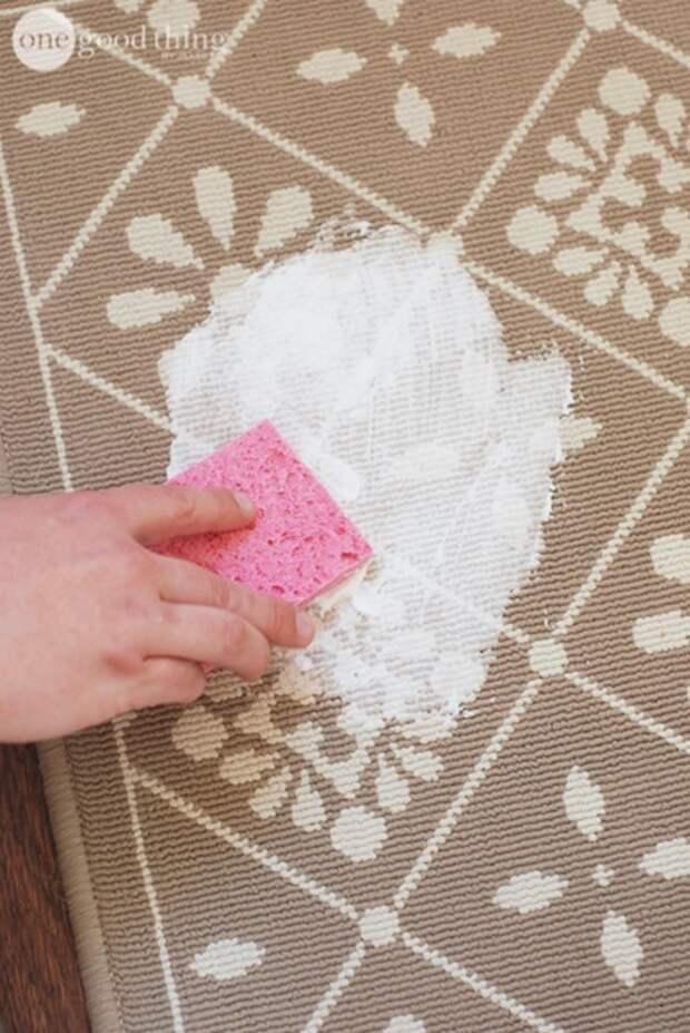 1. Очистить ковер от пятен полезно, советы