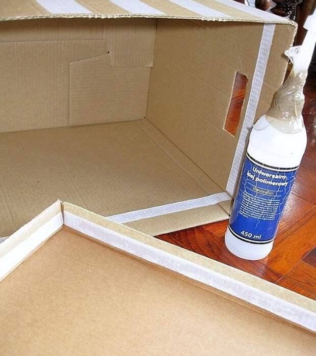 Вязаные коробки DIY