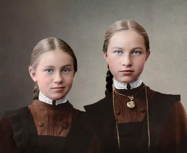 25 фото оживших вновь, отображающих жизнь России с 1900 по 1965 год.