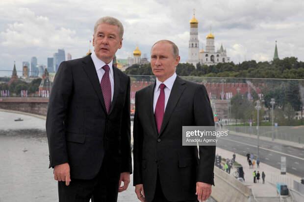 О Собянине против Путина само собой