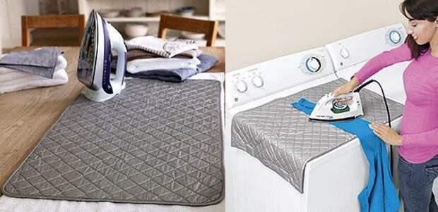 Идеи для хранения гладильной доски. Или 10 мест, где можно спрятать гладильную доску, фото № 48