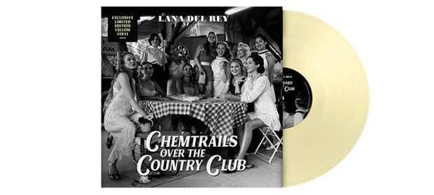 Новый альбом Ланы Дель Рей возглавил рейтинг самых продаваемых виниловых пластинок