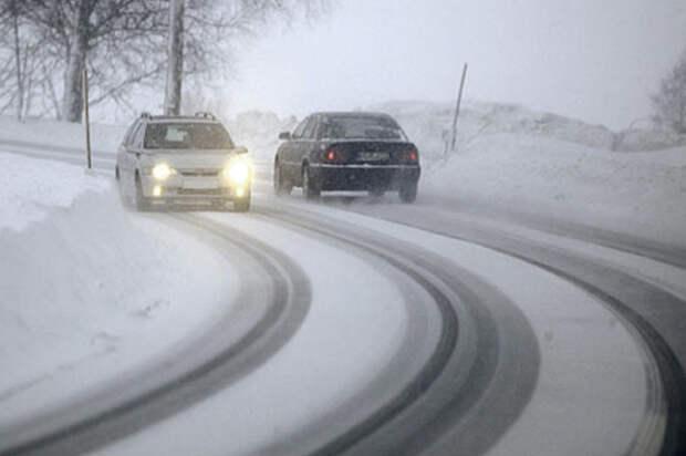 Как водить машину зимой без опаски