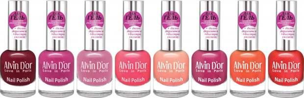 Лак для ногтей Alvin D'or: палитра, отзывы, фото