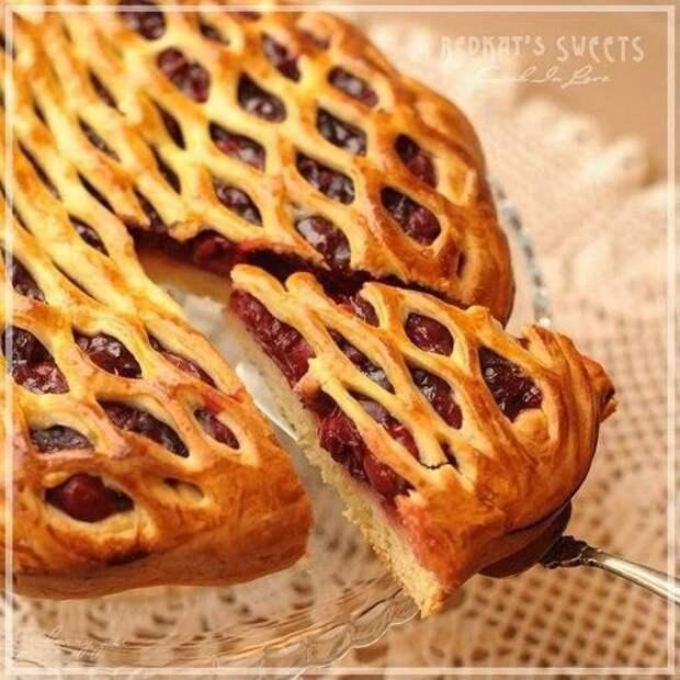 Простые и красивые ягодные пироги. Постимся со вкусом!