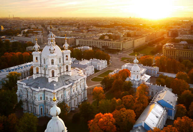 Осенний маршрут по Петербургу: центр. Часть II