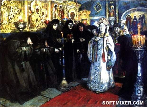 93101592_3646910_4syrikovposeshenie_carevnoi__jensk_monastirya_1912