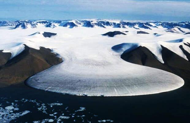 Места планеты с самыми низкими температурами