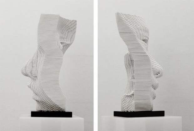 Оригинальные скульптуры из труб