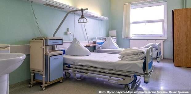 Собянин открыл резервный коронавирусный госпиталь в АТЦ «Москва»
