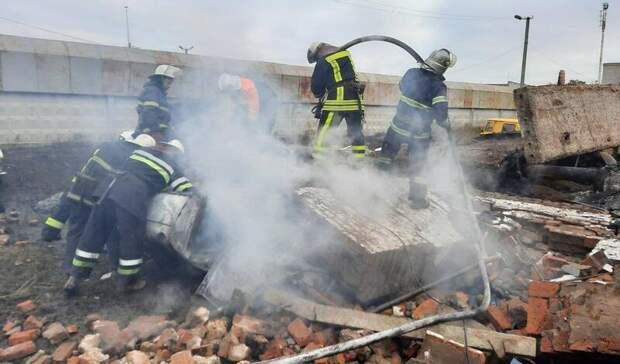 Нагазоперерабатывающей станции вХарьковской области произошел взрыв