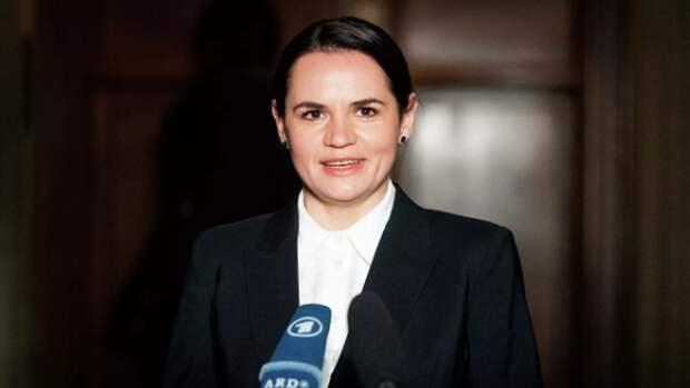 Тихановская отреагировала на включение в базу разыскиваемых лиц в России