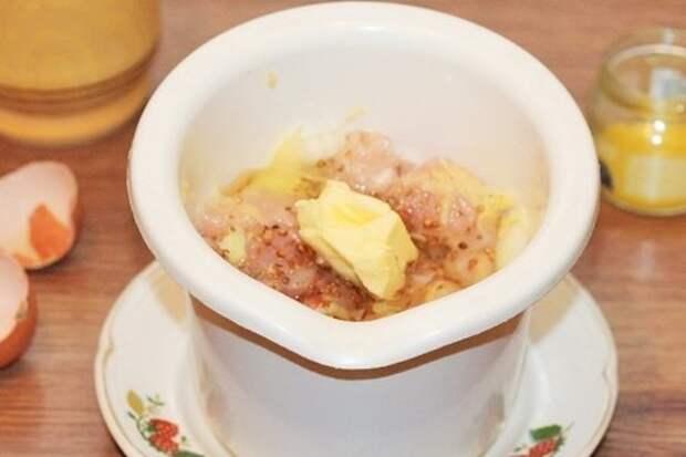 Пирог с начинкой в пряном соусе: фото шаг 3