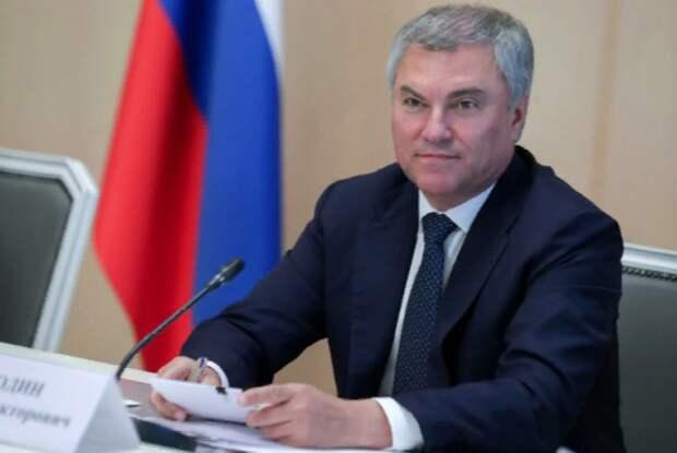 Володин предложил проанализировать международные договоры РФ на соответствие верховенству Конституции