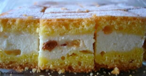 Вкусный и полезный сырный торт, который нравится детям