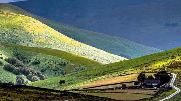На границе Шотландии и Англии