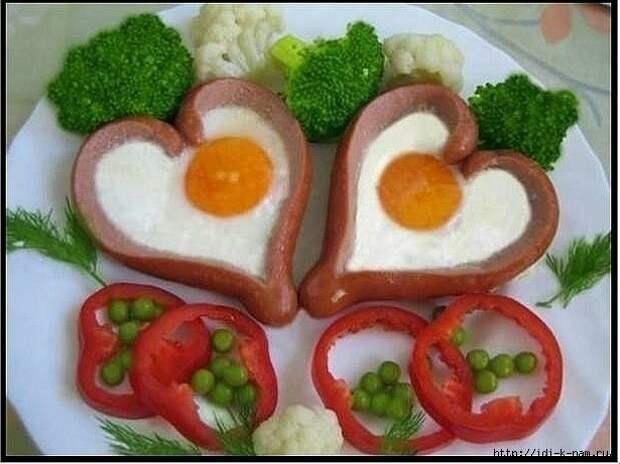 Идеи красивой подачи яиц