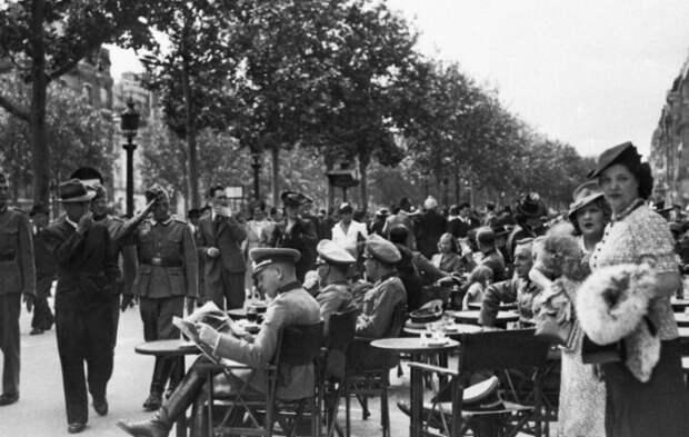Франция времен Второй Мировой.