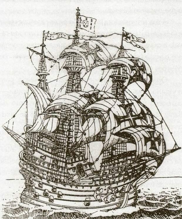 Флор де ла Мар гравюра 16-го века