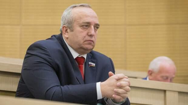 Попробуйте забрать: Клинцевич осадил Эстонию за территориальные претензии к России