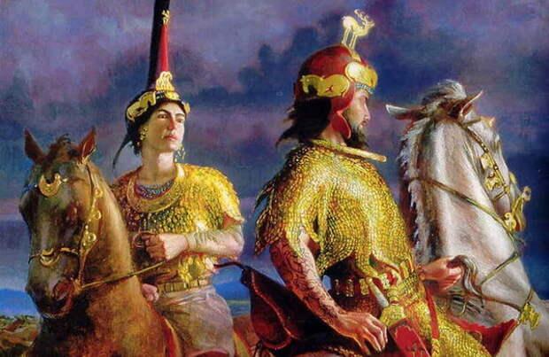 Индоарии в Средней Азии