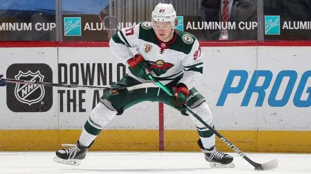 Капризов признан первой российской звездой недели в НХЛ