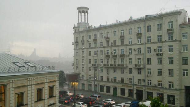 Дождливая и прохладная погода ожидается в Москве 24 сентября