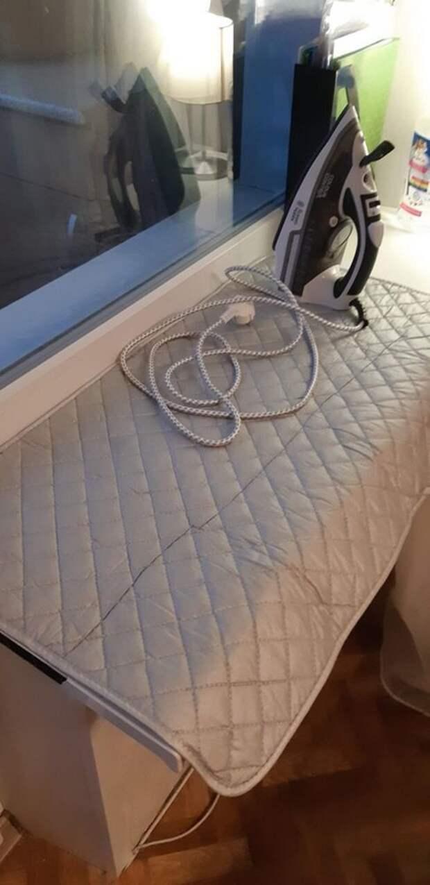 Идеи для хранения гладильной доски. Или 10 мест, где можно спрятать гладильную доску, фото № 49