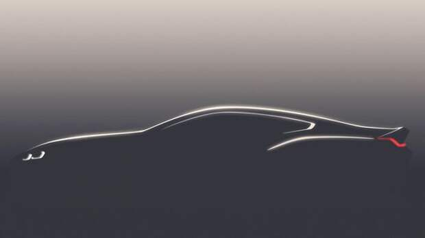 Пока что силуэт: первое изображение «восьмерки» BMW