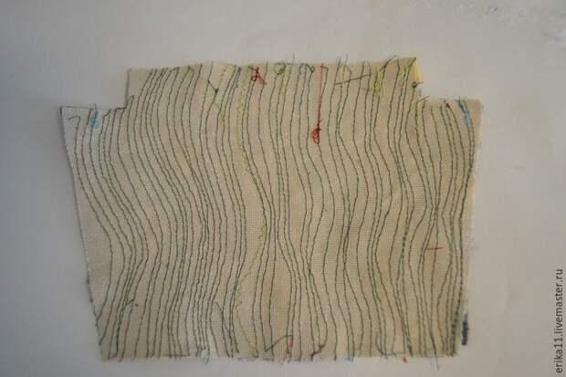 Лоскутная ткань своими руками из обрезков. МК