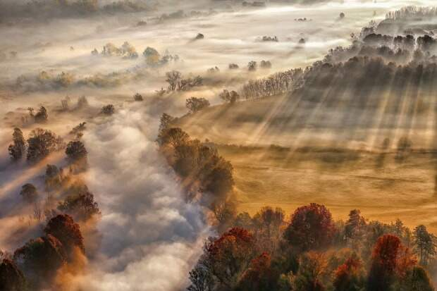 Потрясающие снимки отпобедителей конкурса «Погода года»