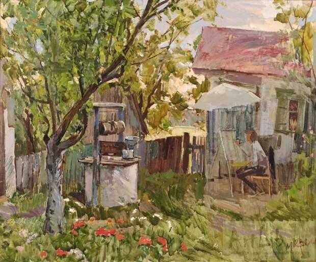 Будни и праздники советских людей в картинах М. А. Кокина.