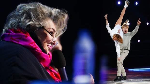 «Я чуть с кресла не сорвалась!» Тарасова оценила эффектное выступление Чепурченко и Хохловой в «Ледниковом периоде»