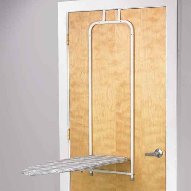 Идеи для хранения гладильной доски. Или 10 мест, где можно спрятать гладильную доску, фото № 42