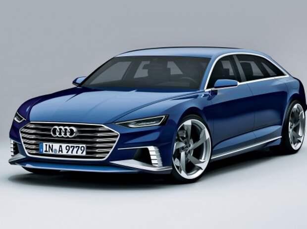 Audi везет в Женеву универсал в стиле Porsche Panamera