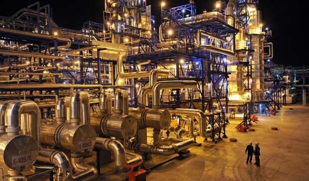Проекты нефтегазохимии привлекают инвестиции вэкономику РФ