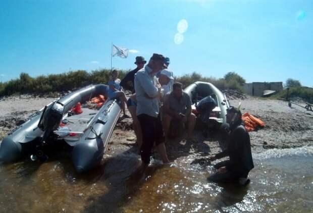 Затонувшее в Крыму судно