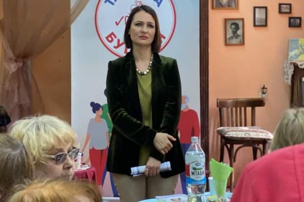 Буцкая: пенсионеры должны получать помощь от государства в полном объеме