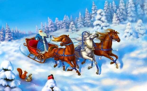 Владимир Путин получит подарок от Деда Мороза