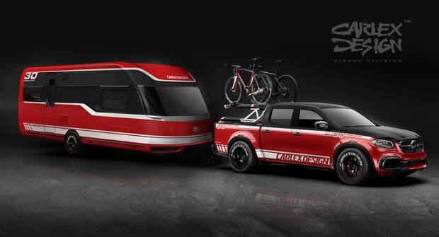 Mercedes-Benz X-класса для любителей путешествий