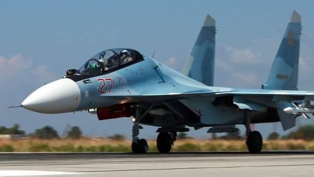 Морская авиация ВС РФ получит более 20 новейших истребителей Су-30СМ2