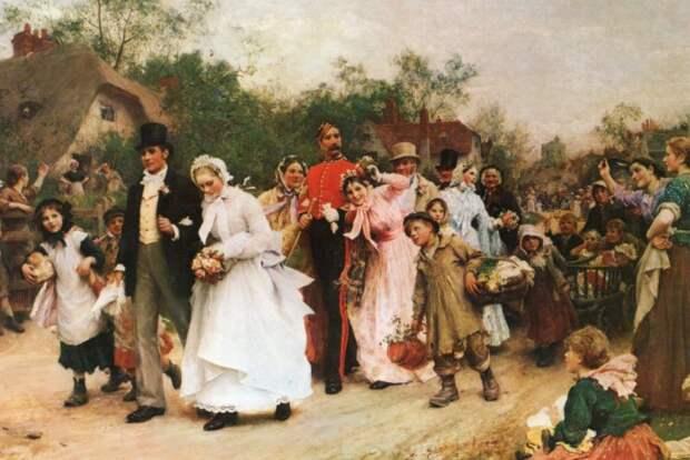Дворянская свадьба.