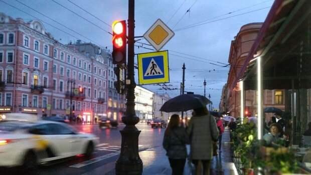 Дожди вернутся в Петербург в середине следующей недели