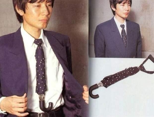 Галстук-зонт умные