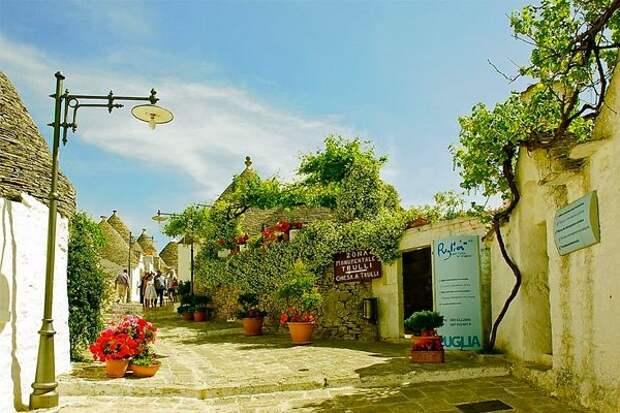 Альберобелло -чудесный городок на юге Италии