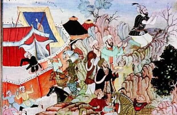 Значение засады в монгольской стратегии и тактике ведения боевых действий. Часть 2