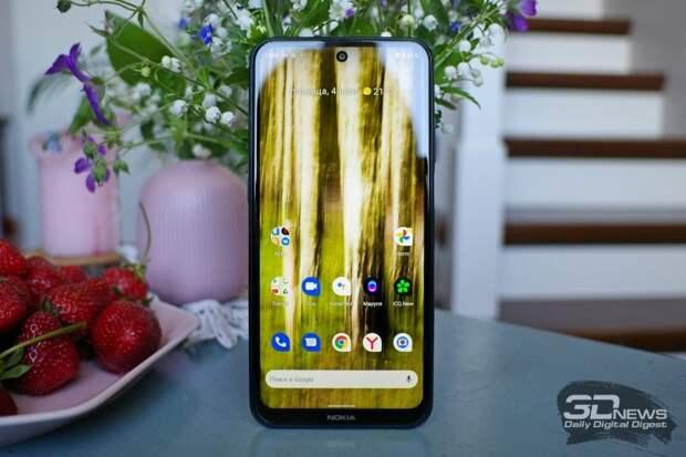 Видеообзор смартфона Nokia X20 под управлением «чистой» ОС Android 11