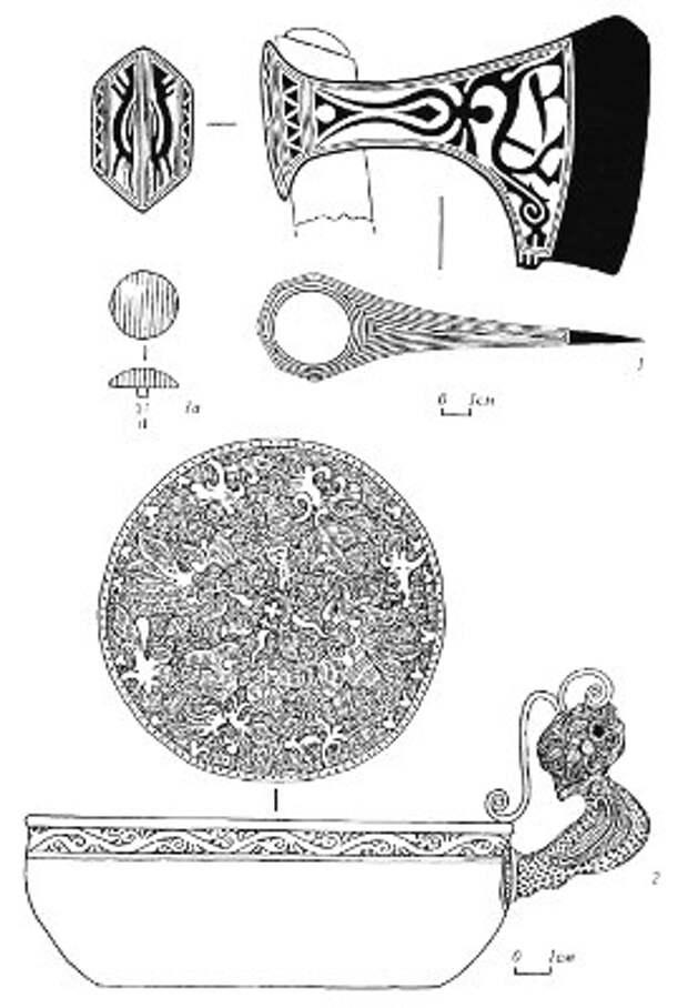 Золотоордынские погребения из могильника «Олень-Колодезь»