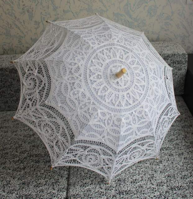 Кружевные зонтики Ирины Вороновой! Красотища!!!)
