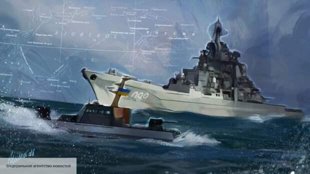Украинский флот стал посмешищем в Британии после угроз в адрес России